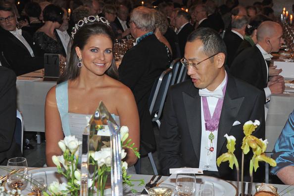 Banquet des Nobel à Stockholm