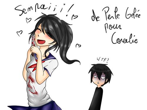 Commande 54: Yandere-chan pour Coralie