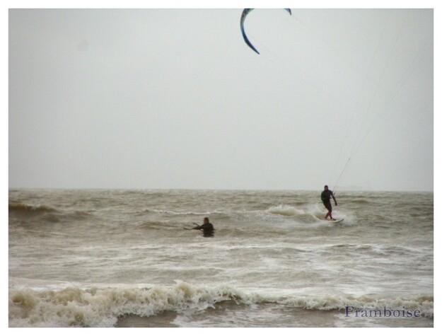 Kyte surf plage de L'ermitage St Brévin
