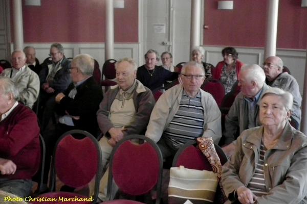 Quelques images de la dernière réunion de la FNACA