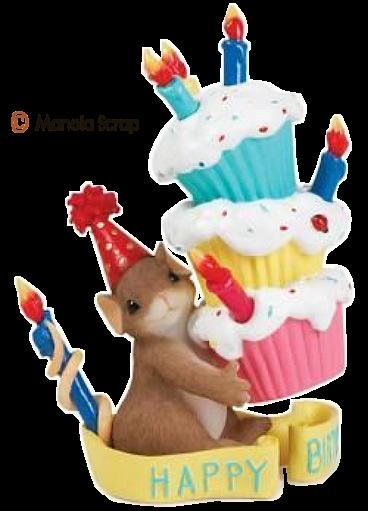 Fête d'anniversaire des petites souris