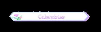 Le petit calendrier des événements