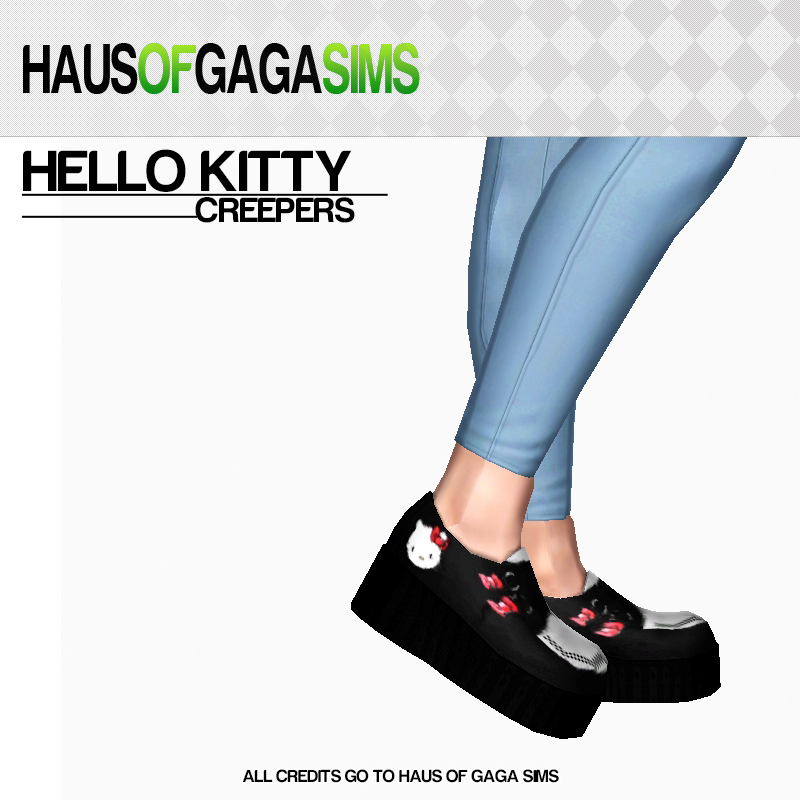T.U.K. HELLO KITTY MONDO CREEPERS