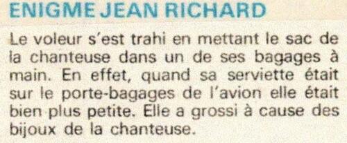 enquête de Jean Richard n°41