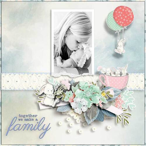 Come Along Spring by dentelle scrap