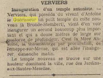 Temple Verviers