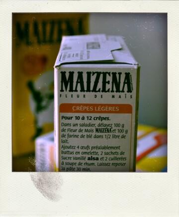 J'ai gagné une belle boîte Maïzena !