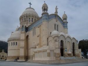 Notre Dame d'Afrique +á Alger