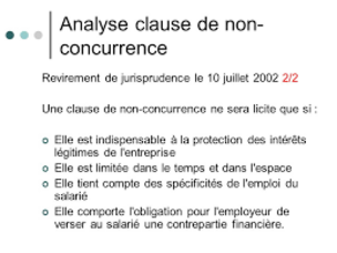 """Résultat de recherche d'images pour """"clauses de non concurrence"""""""
