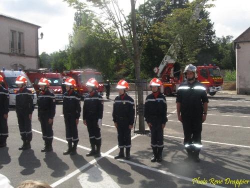 Le 14 juillet 2011 à Châtillon sur Seine..