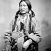Chief Kicking Bird (Tene'-angpote). Kiowa. ca. 1868-1874. Photo by Wililam S. Soule. Source - Nation