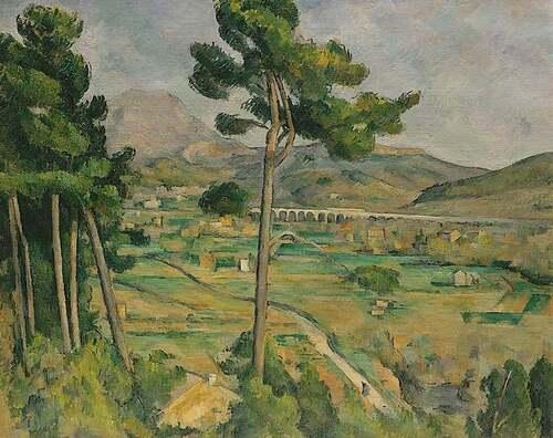 La montagne Sainte Victoire et Paul Cezanne