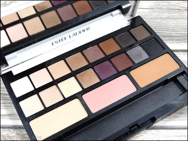 Focus sur la palette Estée Lauder sculpting eyes shadows