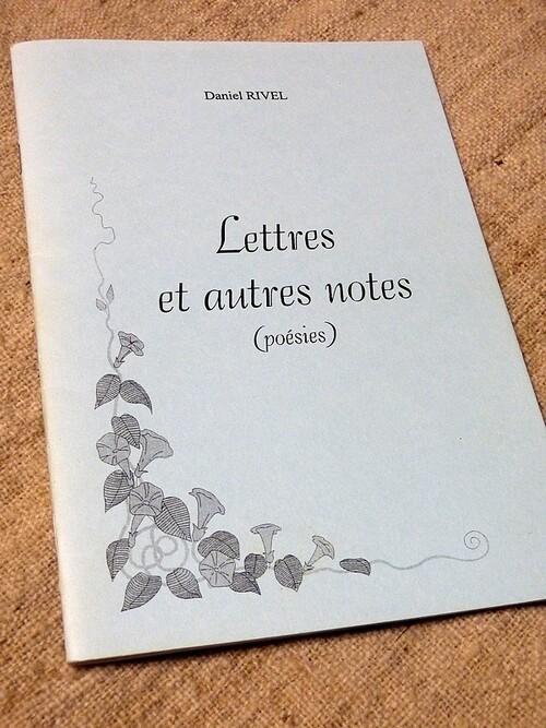 ''Lettres et autres notes''. Parution début 2002.