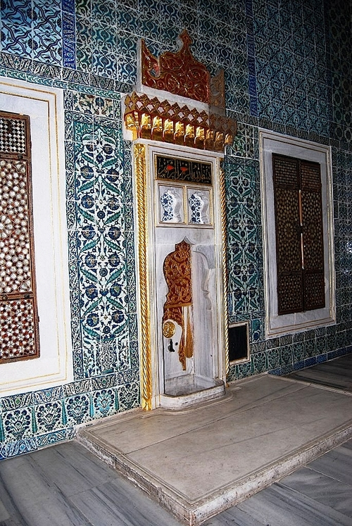 Le Palais Topkapi - Le Harem, la chambre d'Amour