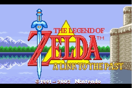 The legend of Zelda A link to the past s