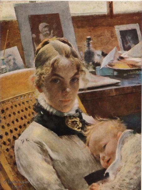 sa femme et sa fille