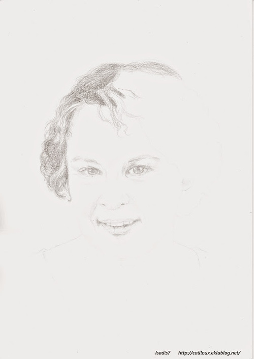 Autoportrait en cours