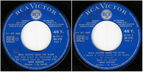 NINA SIMONE - French EP RCA VICTOR 86.570 - 1967