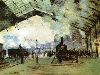 Direction Angoulême /  2    Tableau de C Monet
