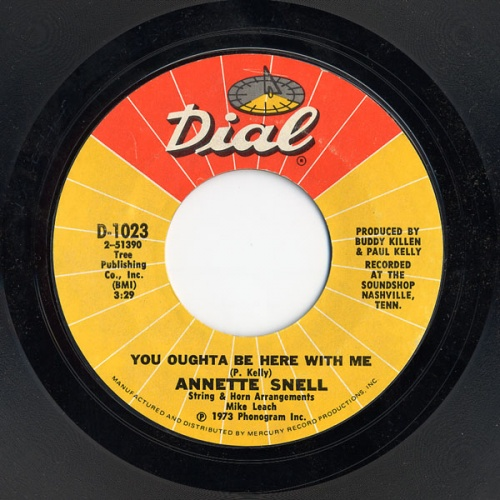 Annette Snell : You Oughta Be Here With Me