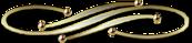 Barre de séparation dorée gif