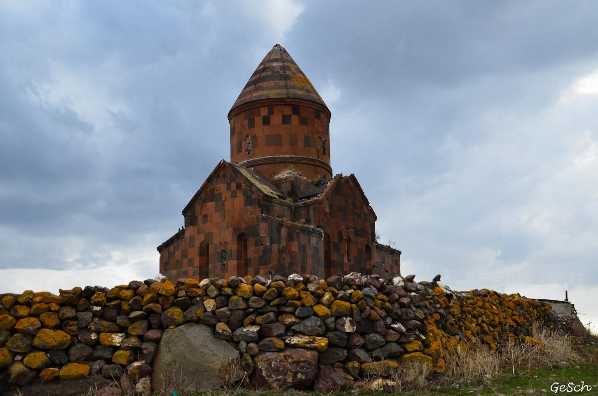 kars ani  kizil kilise arménie turquie schnoebelen