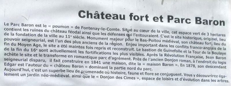 Fontenay-le-Comte en Vendée