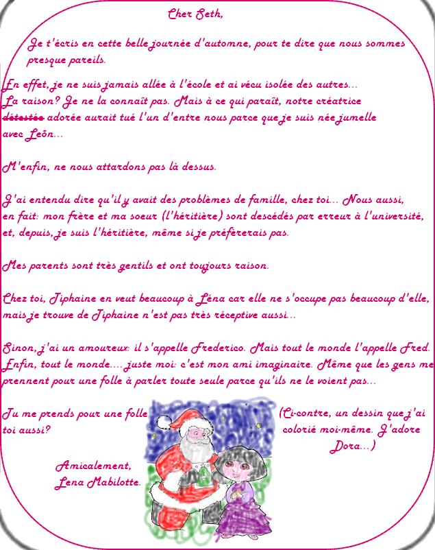 Lettres de Lena