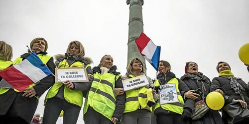 Les femmes, la violence policière et les gilets jaunes