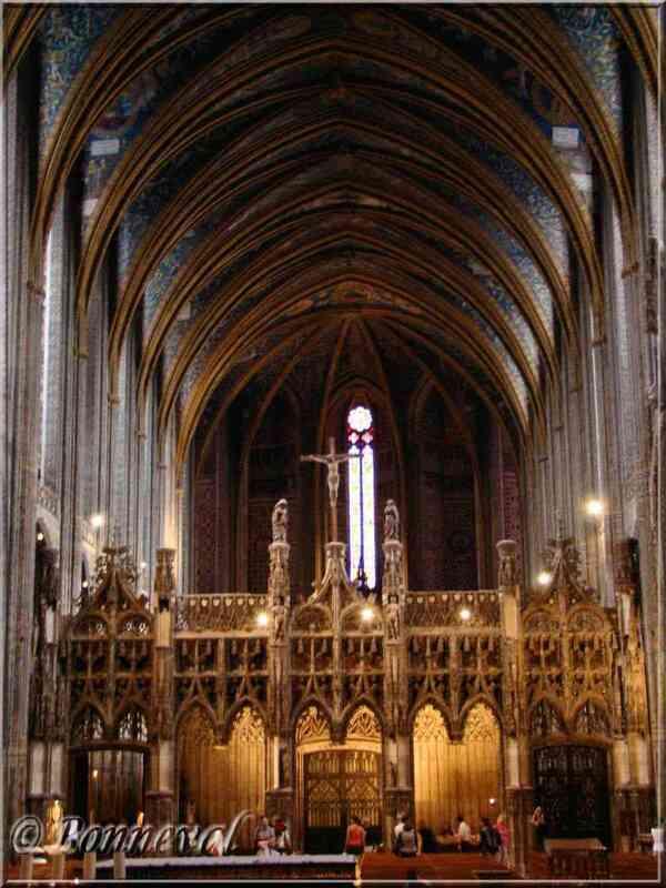 La Cathédrale Sainte-Cécile le Jubé et le Grand choeur