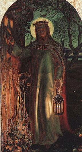 La Lumière du monde (1854) par William Holman Hunt