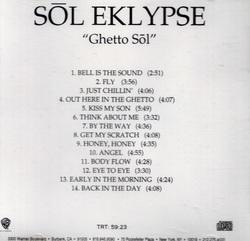 SOL EKLYPSE - GHETTO SOL (2000)