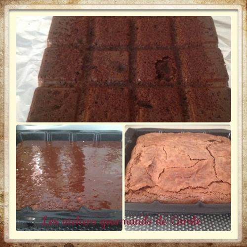 Gâteau au chocolat ( fondant à souhait)