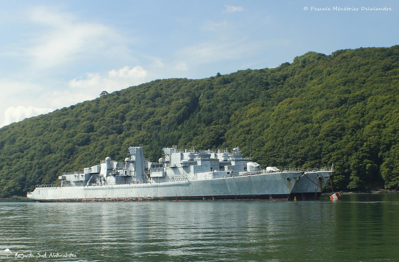 Cimetière des navires de Landévennec
