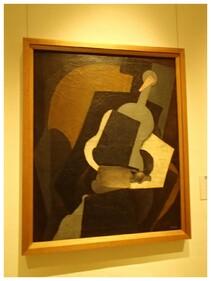 Tableau de Diego Rivera, influence cubiste