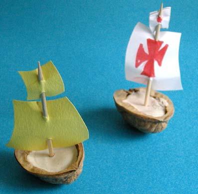 bateaux en coquille de noix