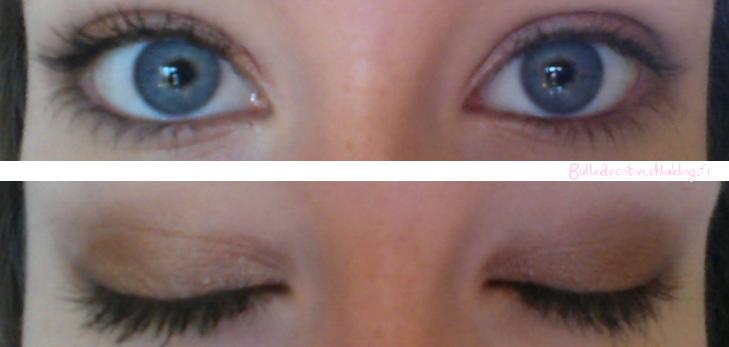 tuto: un maquillage simple pour les yeux ! - bulle de coton