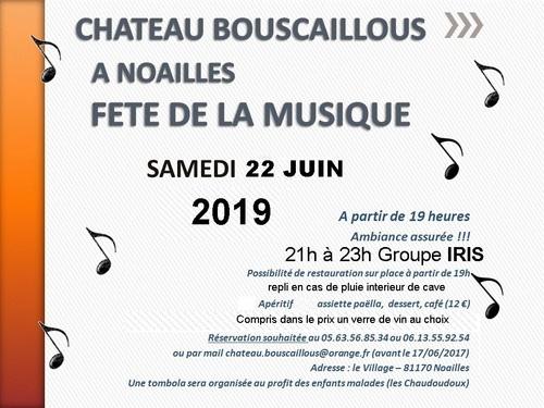 Concert IRIS le 22 juin  2019