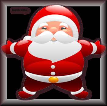 Tube père Noel vectoriel 2984