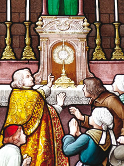 Miracle Eucharistique Les Hulmes 1668
