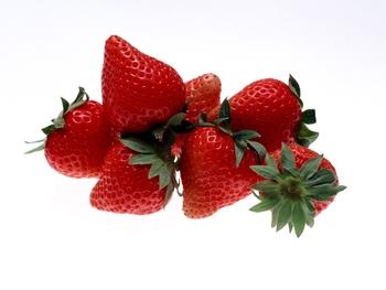 Thé vert à la fraise (1)