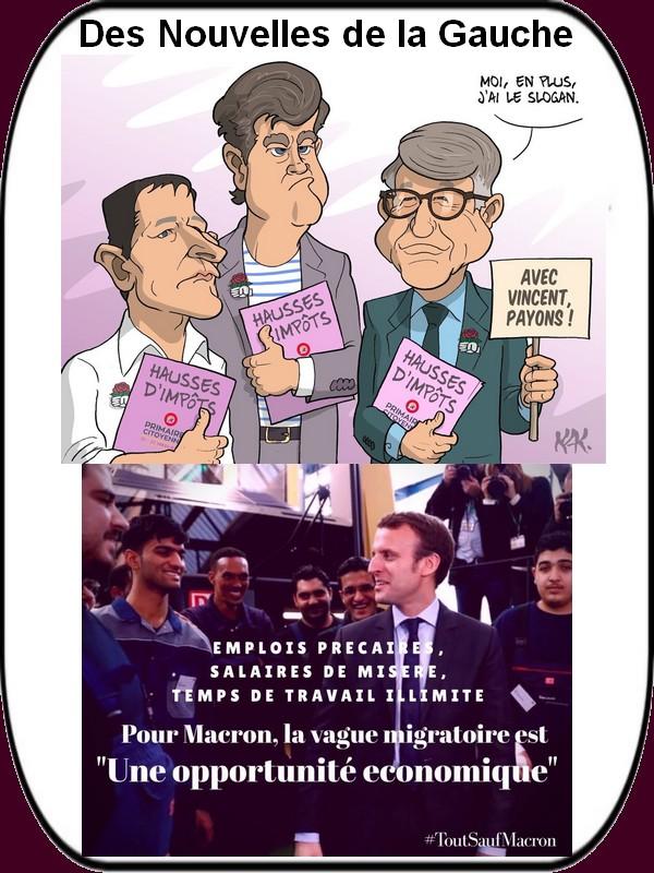 Hamon , Valls et les phrases débiles du lundi.