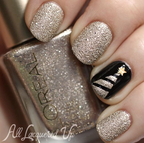 Christmas Tree Nail Art 1 Best of 2013   Top 30 Nail Polishes of the Year: