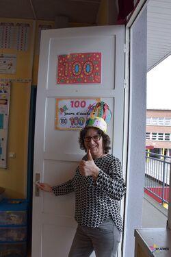 Notre 100ème jour d'école 2018
