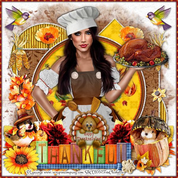 Dinde à Thanksgiving