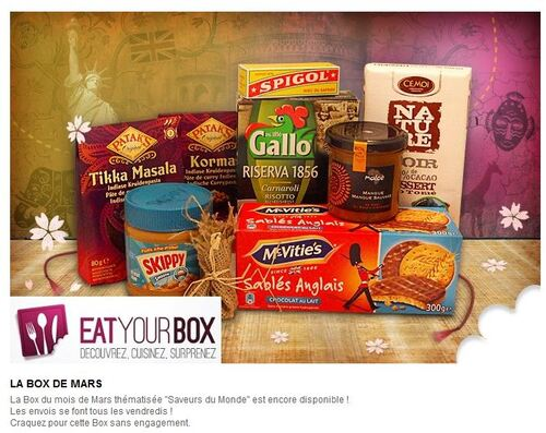 Eat your box - Saveurs du monde