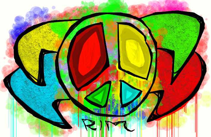 Peace & Love - Abstrait