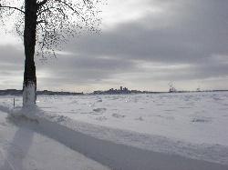 Québec vu de l'île