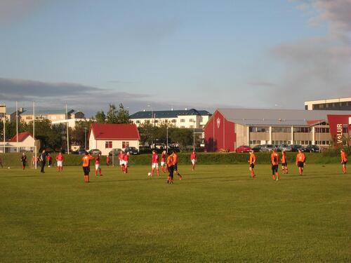 Foot en Islande